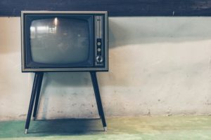 old style television