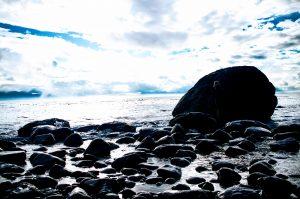 bc ocean and rocks